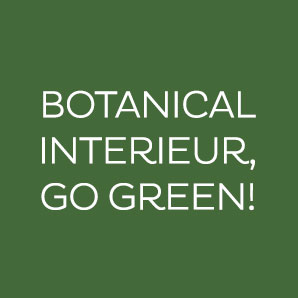 Botanical interieur, go green