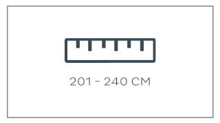 201 - 240 cm