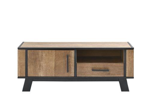 TV-Meubel Captona houtstructuur/metaal