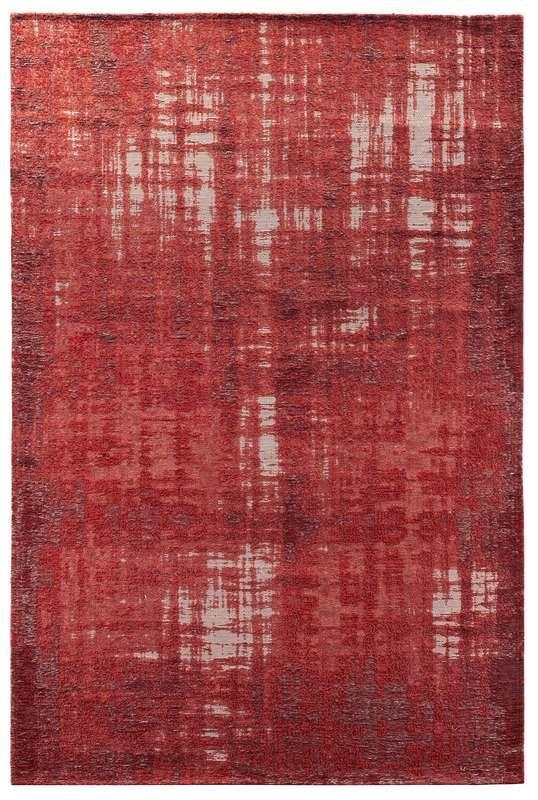 Vloerkleed vintage Giano rood/bordeaux 170x230cm