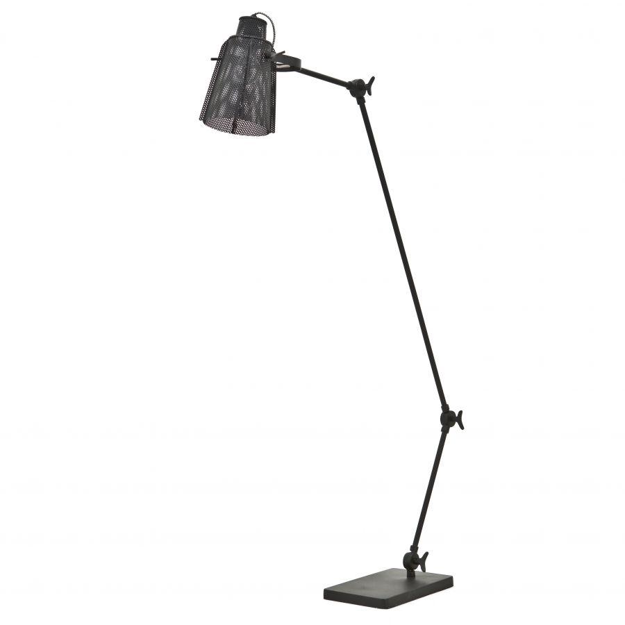 Vloerlamp APOLLO Metaal Zwart