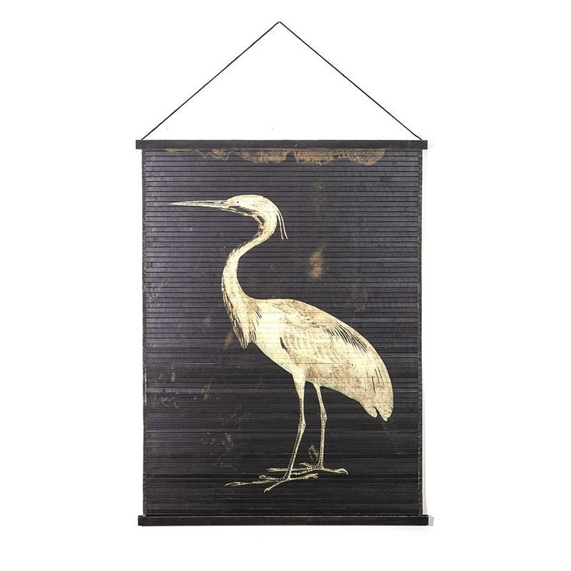 Wanddeco MIYAGI Vogel Groot
