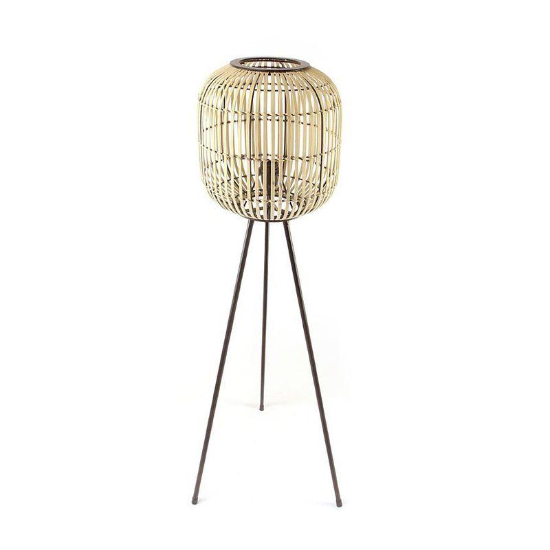 Vloerlamp SUNLIGHT Small Bamboe