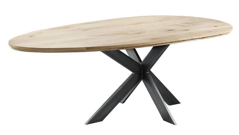 Eettafel Grianta eivorm eikenhout 220x110cm