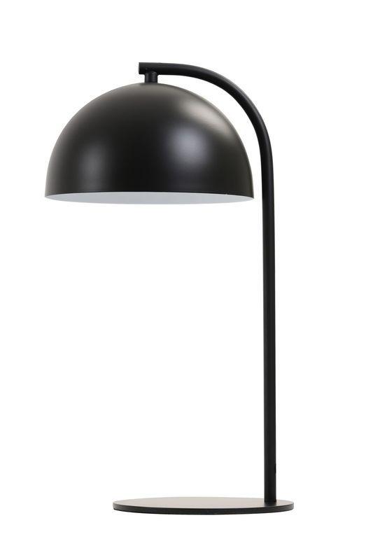 Tafellamp Mette mat zwart