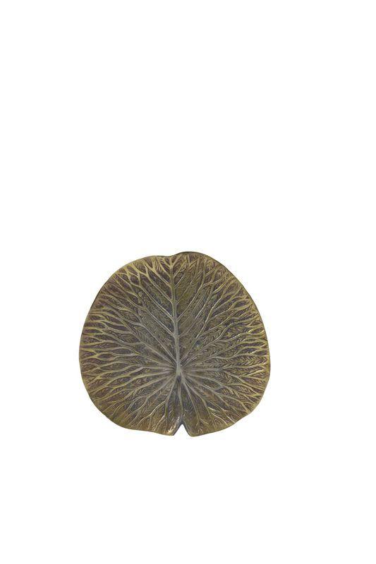 Ornament Leaf antiek brons
