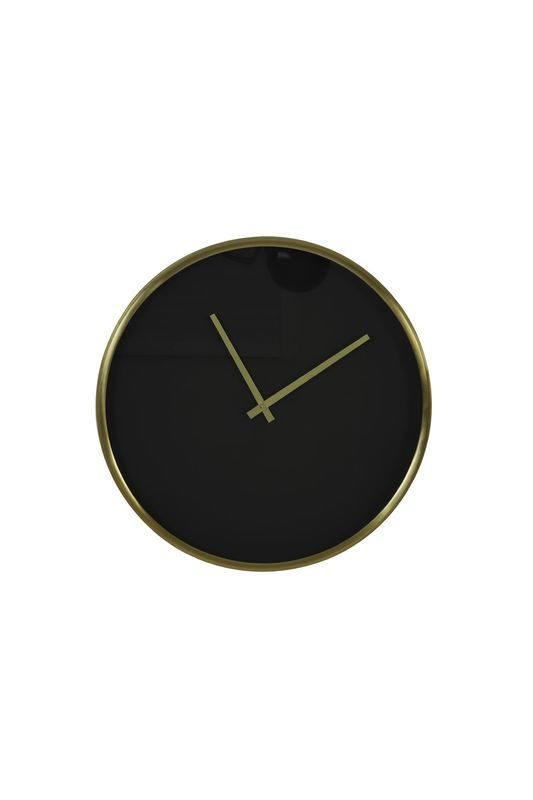 Klok Seponi zwart goud