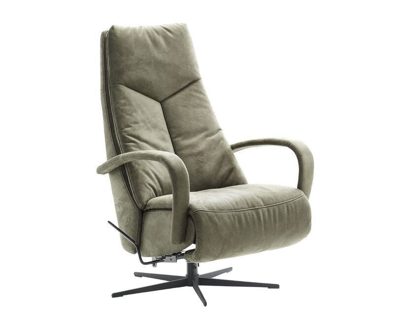 Relaxfauteuil Lomani groen