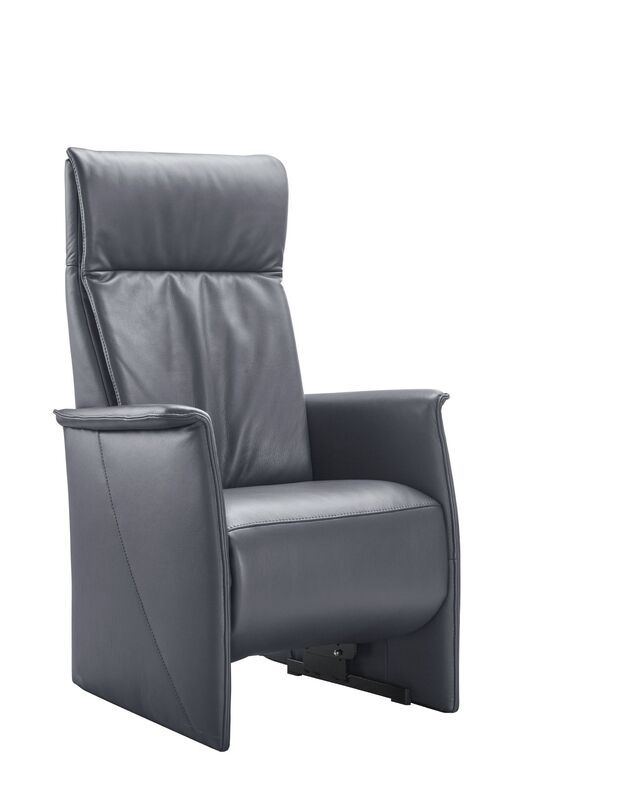Relaxfauteuil Lerira met sta-op XL antraciet