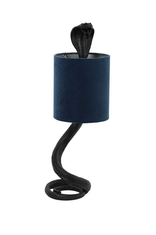 Tafellamp Snake zwart