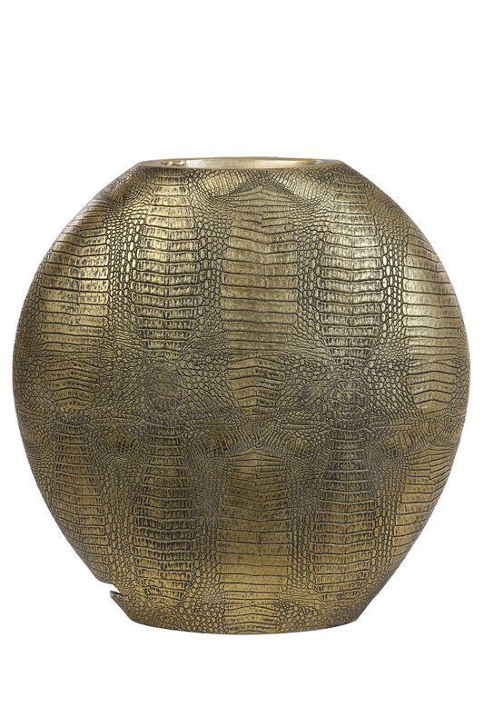 Vaas Skeld antiek brons