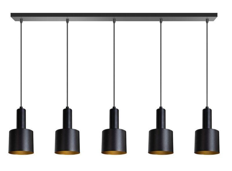 Edge hanglamp zwart metaal