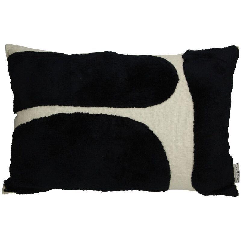 Cushion cotton black 40x60cm
