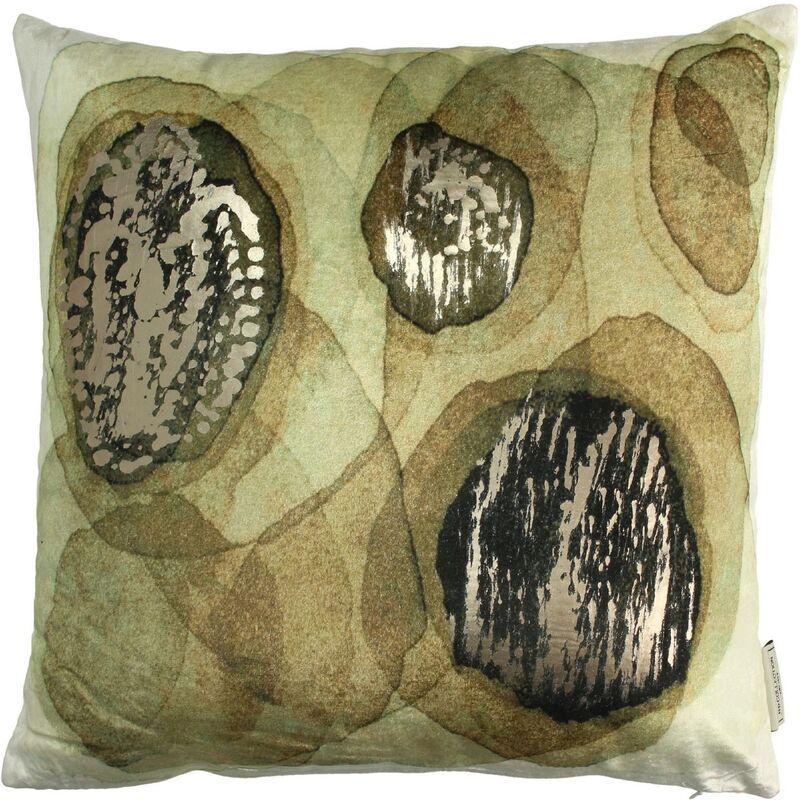 Cushion velvet green 45x45cm