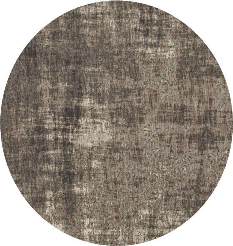 Vloerkleed Rubio grijs ø240cm
