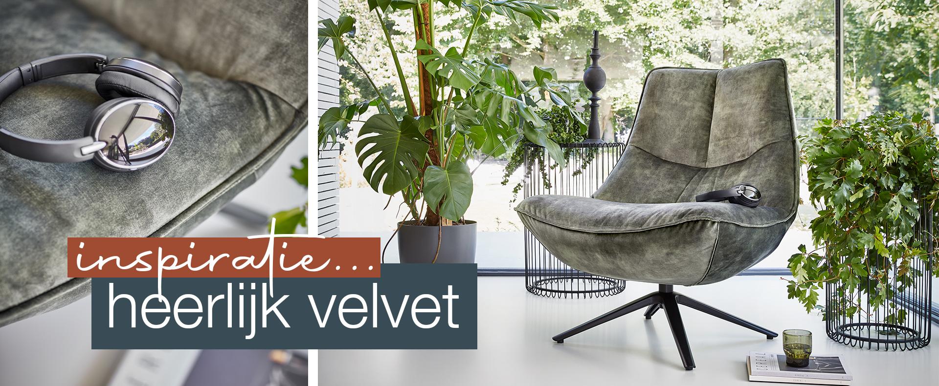 Interieur inspiratie: Velvet is voor iedereen!