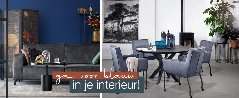 Ga voor blauw in je interieur!
