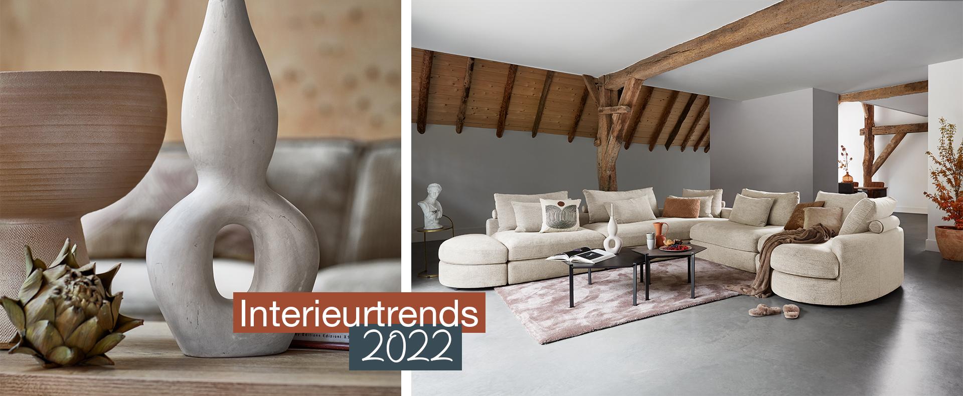 6x interieurtrends 2022; Dit zijn de trends en kleuren!